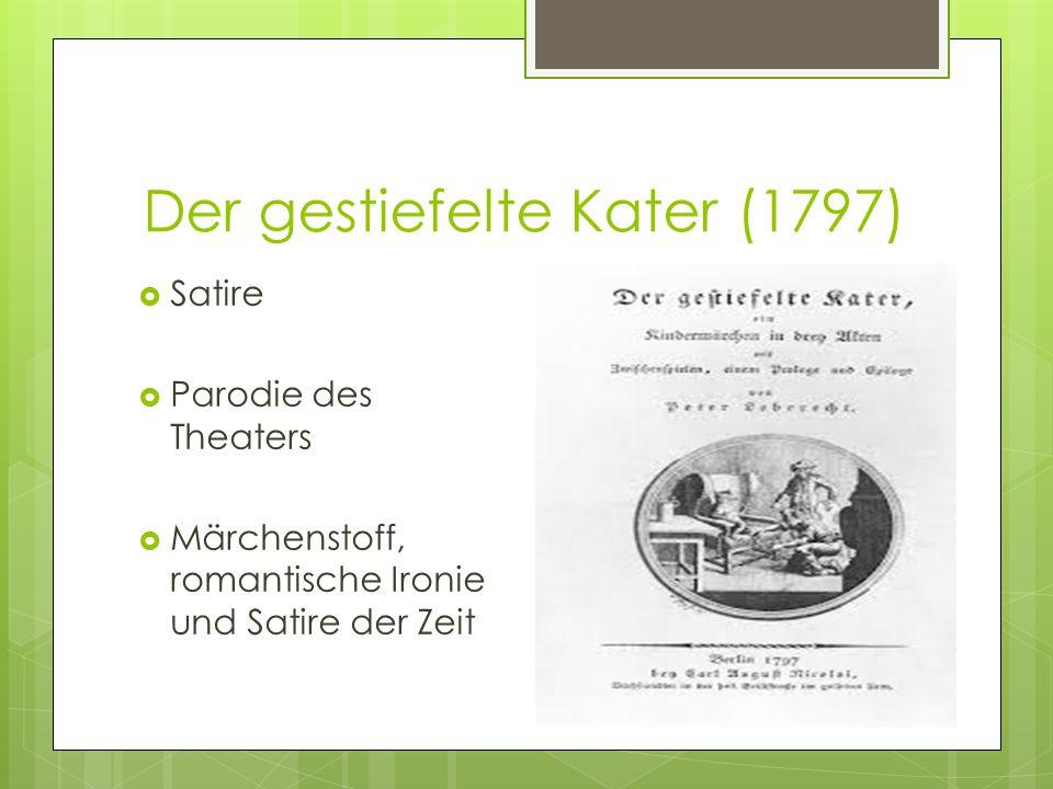 Der gestiefelte Kater (1797)