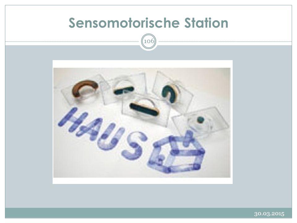 Sensomotorische Station