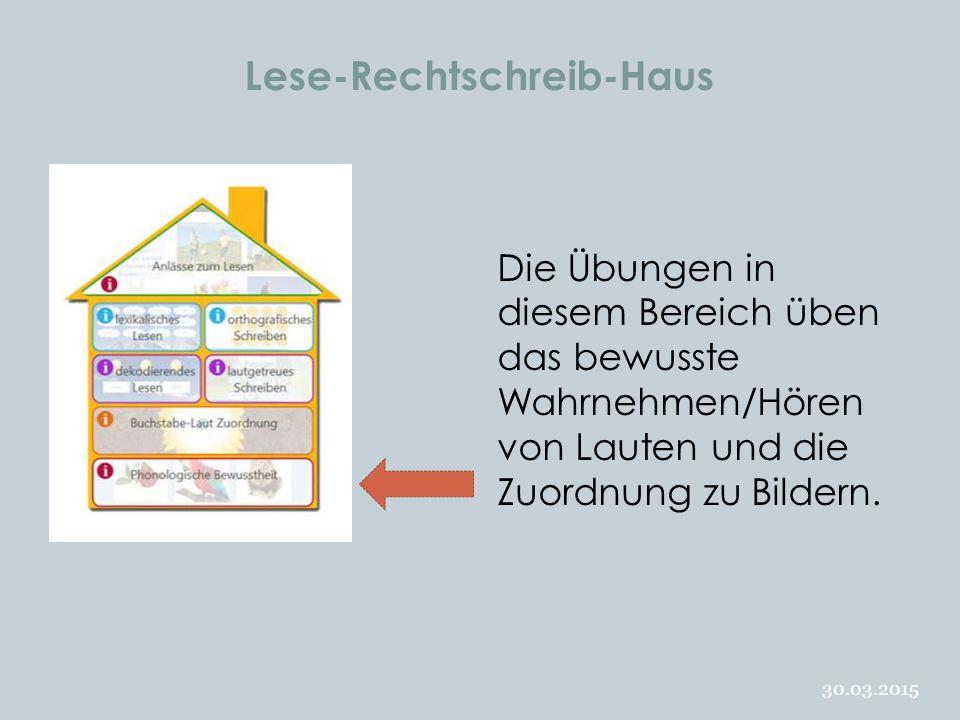 Lese-Rechtschreib-Haus