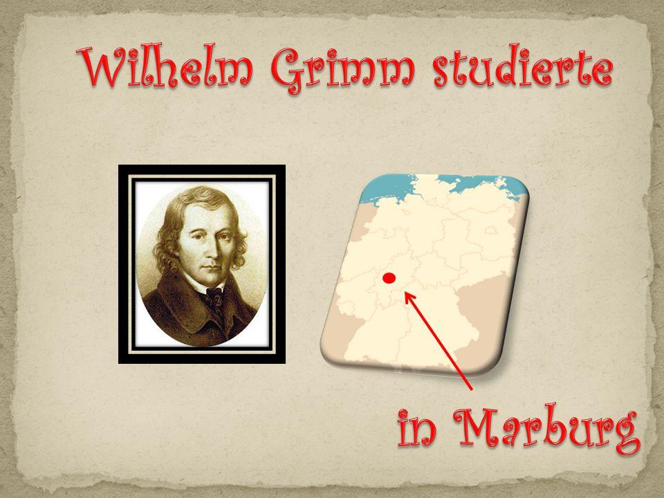 Wilhelm Grimm studierte
