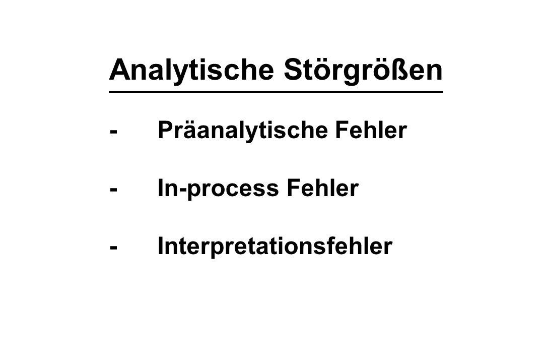 Analytische Störgrößen