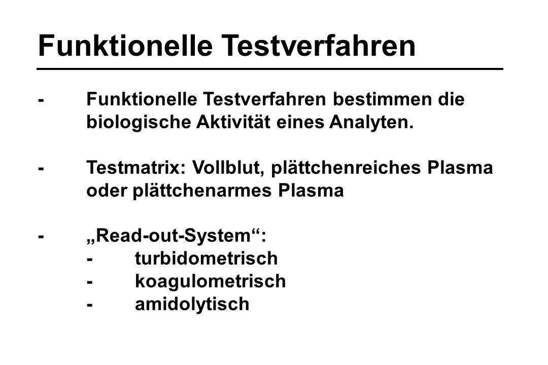 Funktionelle Testverfahren