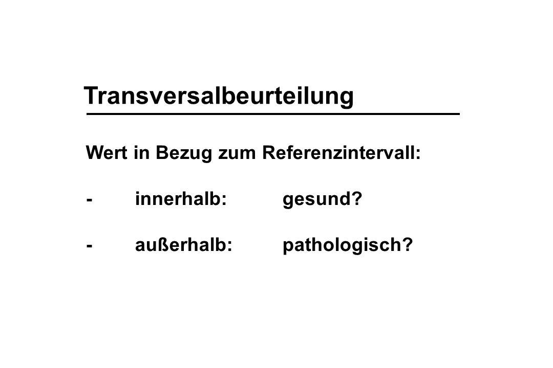 Transversalbeurteilung
