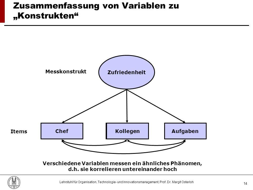 """Zusammenfassung von Variablen zu """"Konstrukten"""