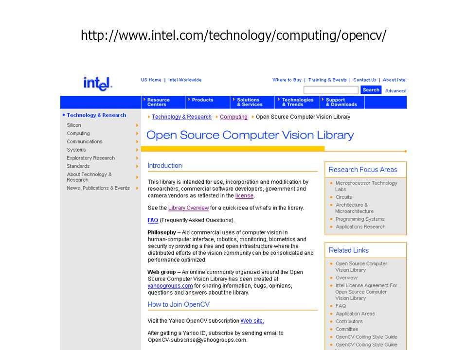 http://www.intel.com/technology/computing/opencv/