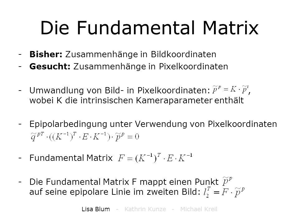Die Fundamental Matrix