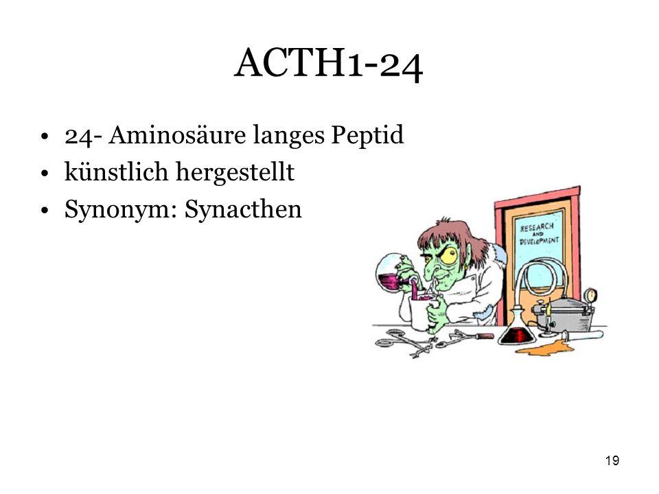 ACTH1-24 24- Aminosäure langes Peptid künstlich hergestellt