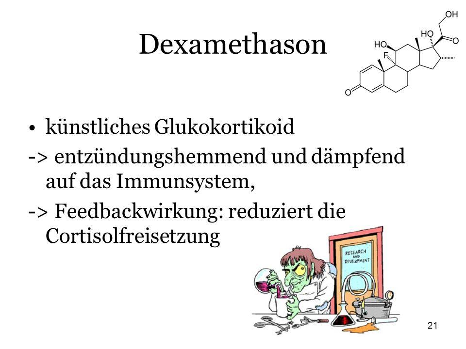 Dexamethason künstliches Glukokortikoid