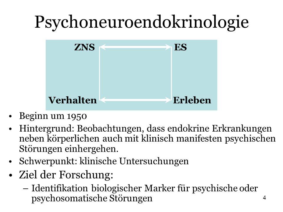 Psychoneuroendokrinologie