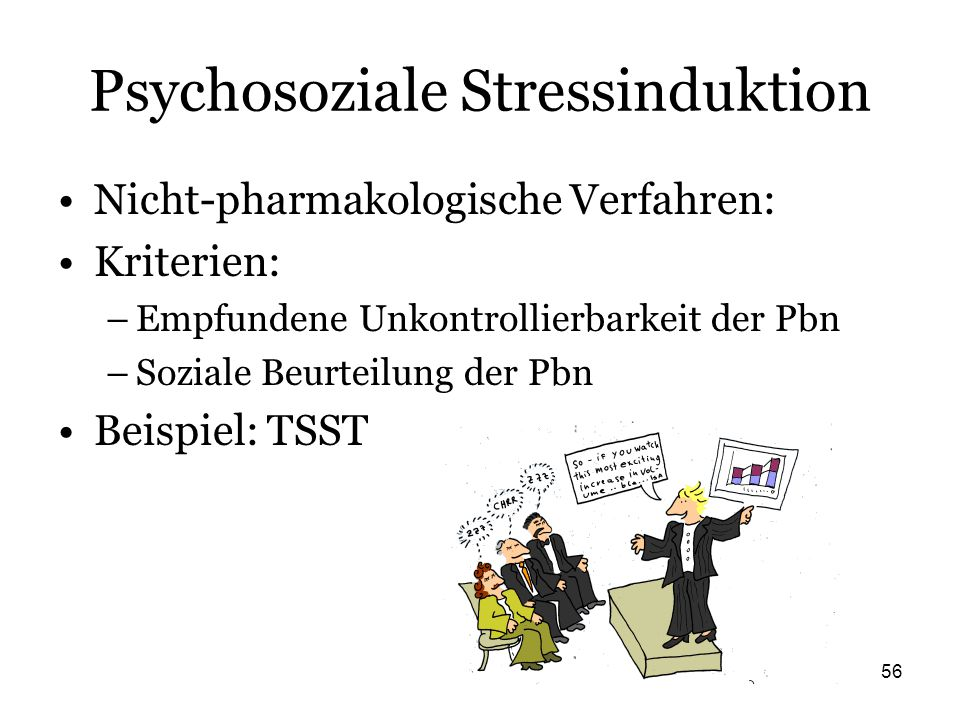 Psychosoziale Stressinduktion