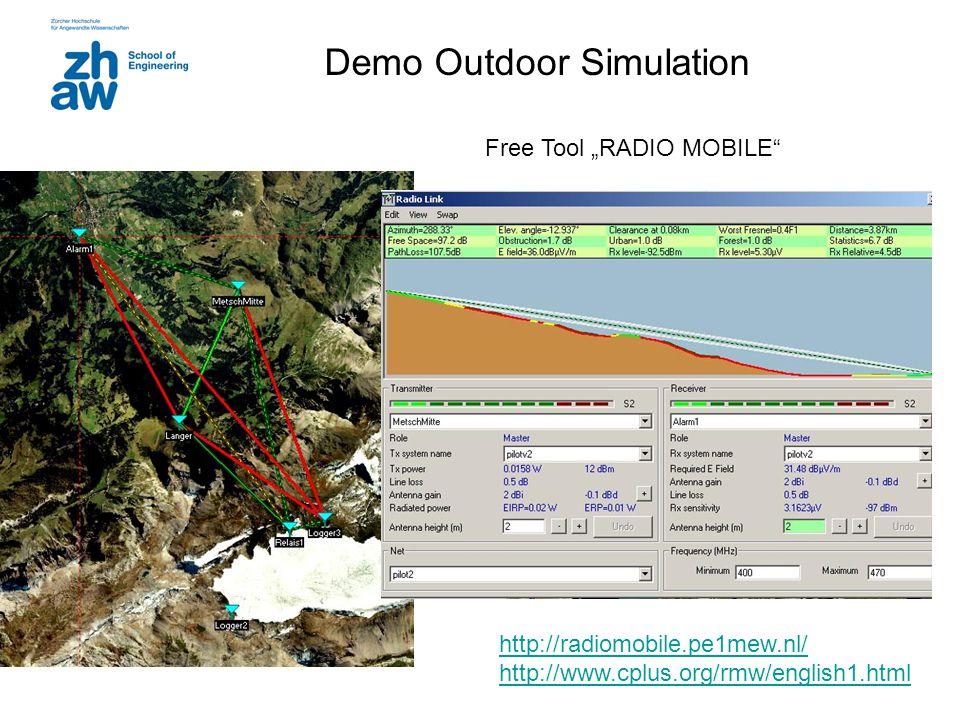 Demo Outdoor Simulation