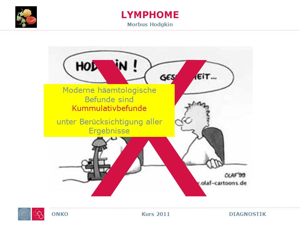 LYMPHOME Morbus Hodgkin