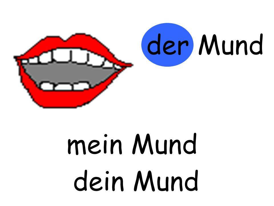 der Mund mein Mund m…… Mund dein Mund d…… Mund