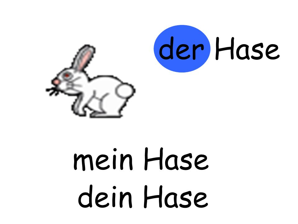 der Hase mein Hase m…… Hase dein Hase d…… Hase