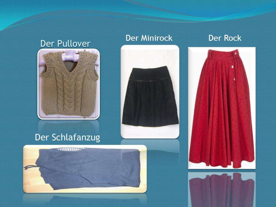 Der Minirock Der Rock Der Pullover Der Schlafanzug