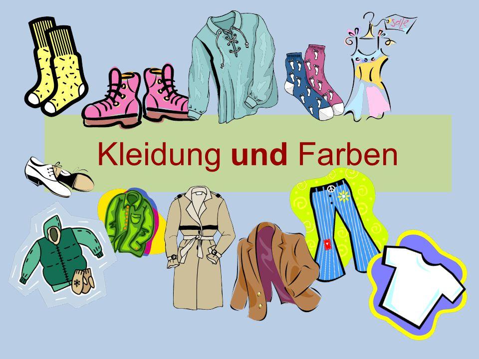 Kleidung und Farben
