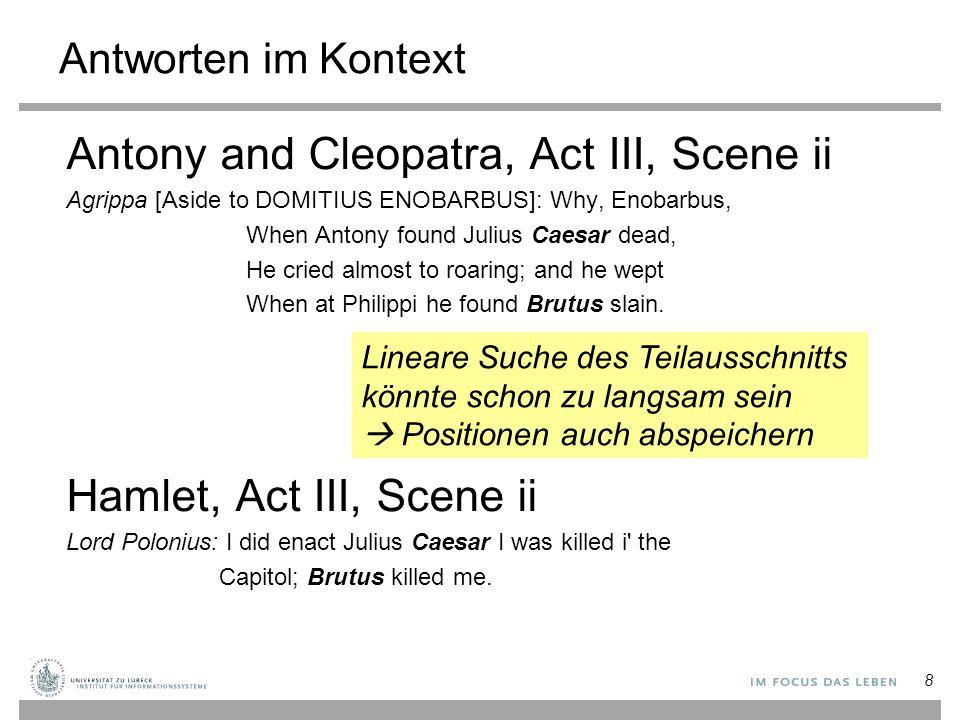 Antony and Cleopatra, Act III, Scene ii