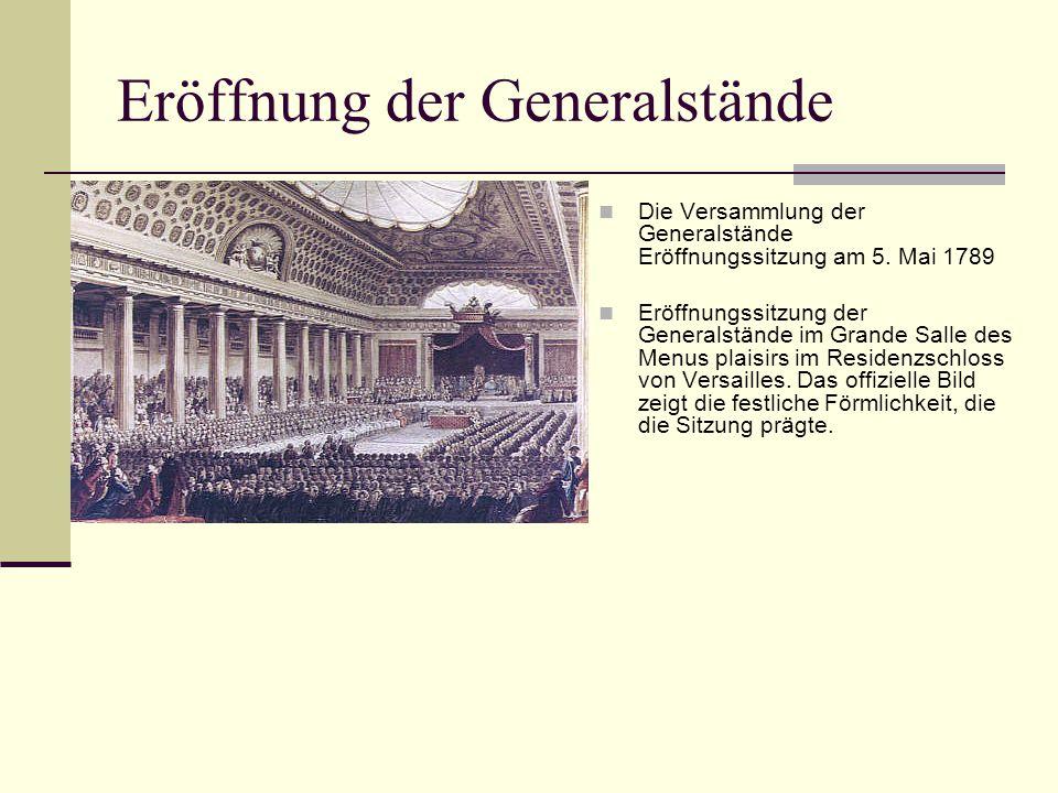 Eröffnung der Generalstände