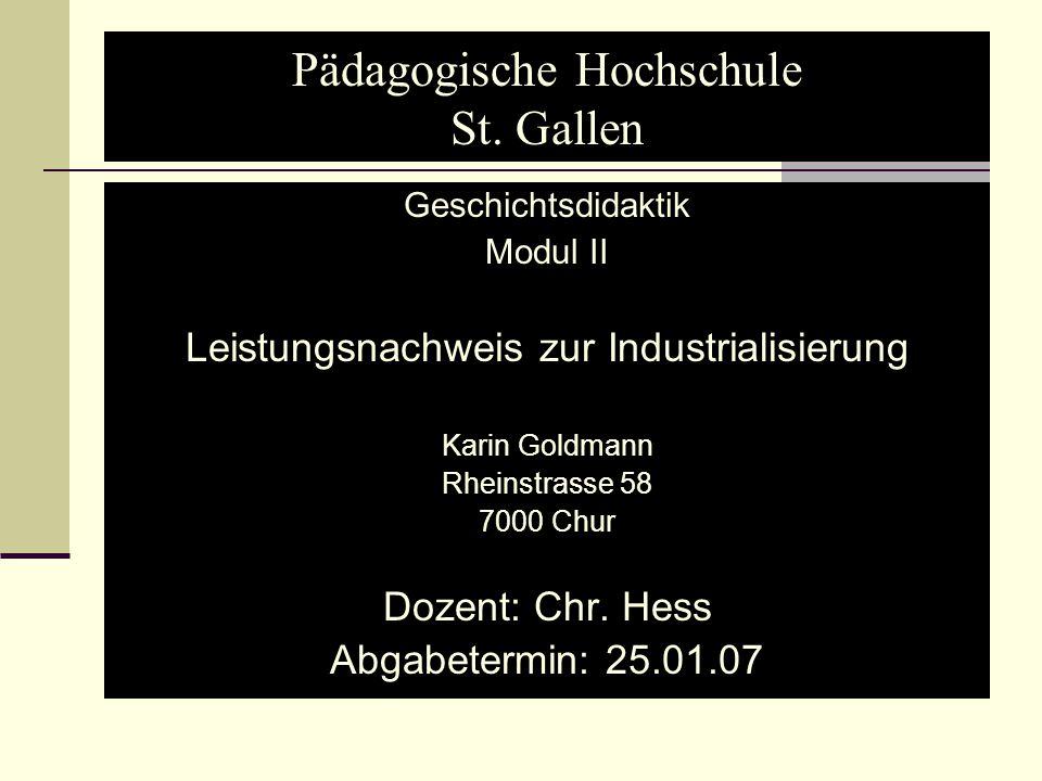 Pädagogische Hochschule St. Gallen