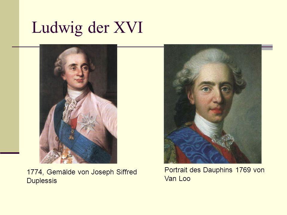 Ludwig der XVI Portrait des Dauphins 1769 von Van Loo