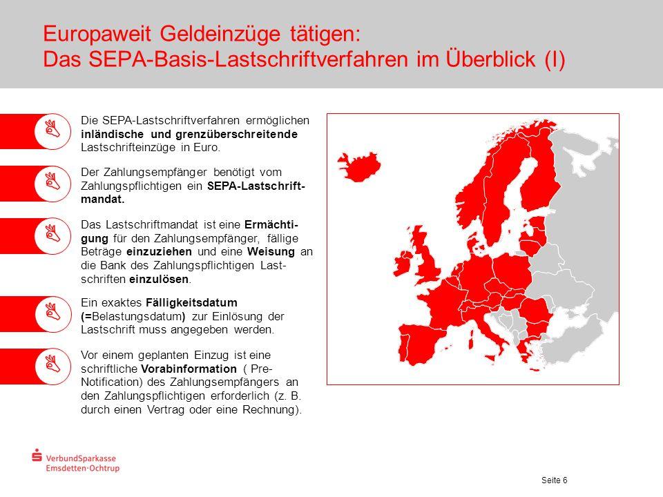 Europaweit Geldeinzüge tätigen: Das SEPA-Basis-Lastschriftverfahren im Überblick (I)