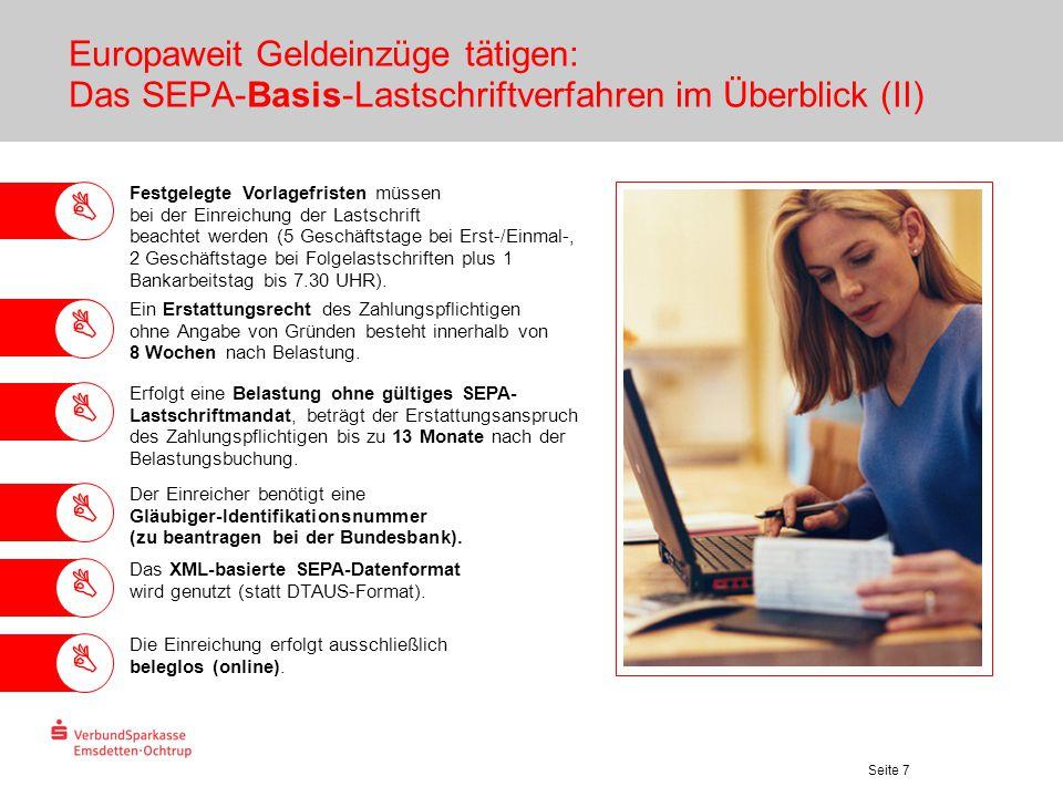 Europaweit Geldeinzüge tätigen: Das SEPA-Basis-Lastschriftverfahren im Überblick (II)