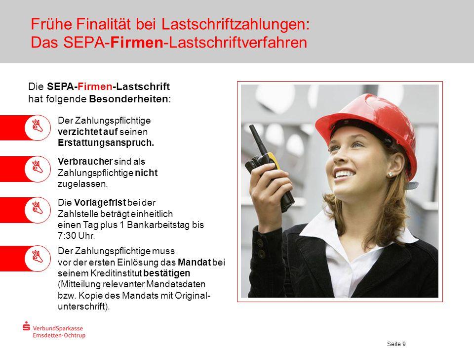 Frühe Finalität bei Lastschriftzahlungen: Das SEPA-Firmen-Lastschriftverfahren