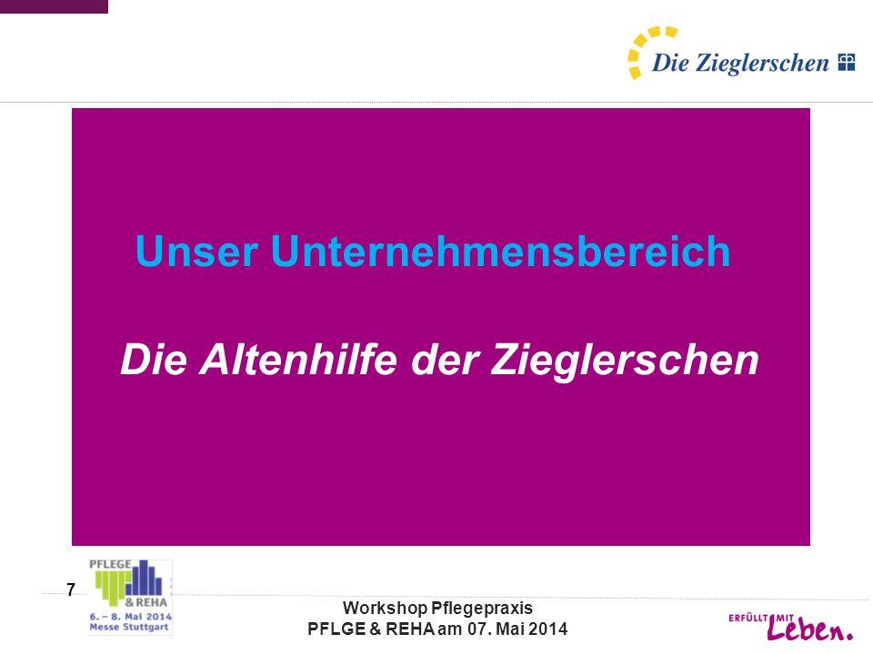 Altenhilfe der Zieglerschen, Tannenbergstraße 44, 73230 Kirchheim/Teck