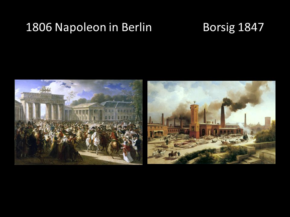 1806 Napoleon in Berlin Borsig 1847