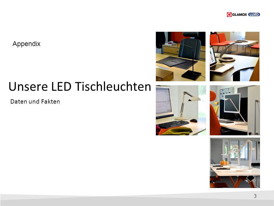 Unsere LED Tischleuchten