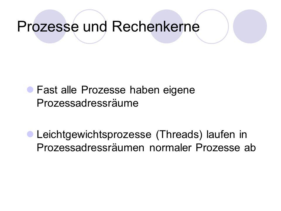 Prozesse und Rechenkerne