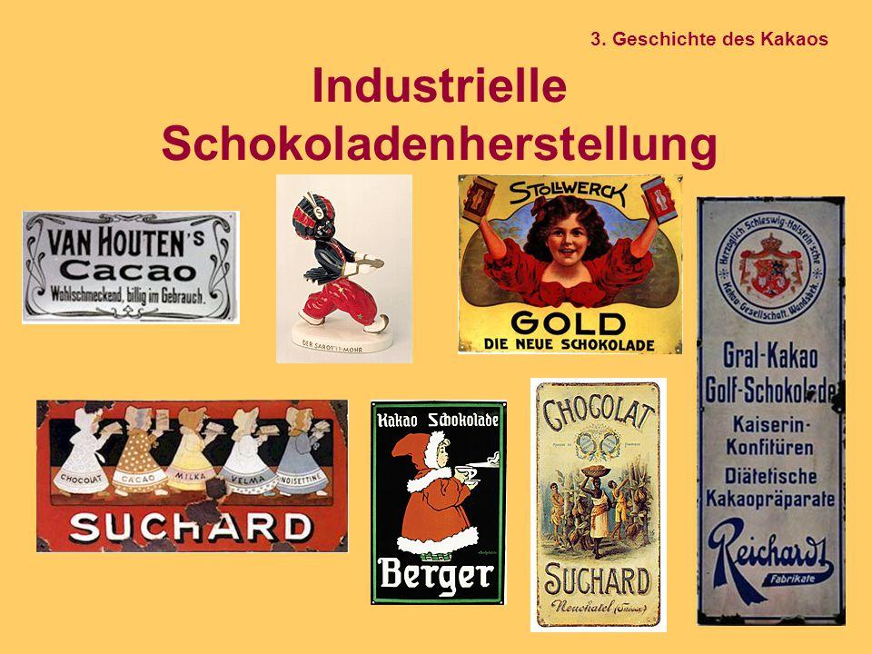 Industrielle Schokoladenherstellung