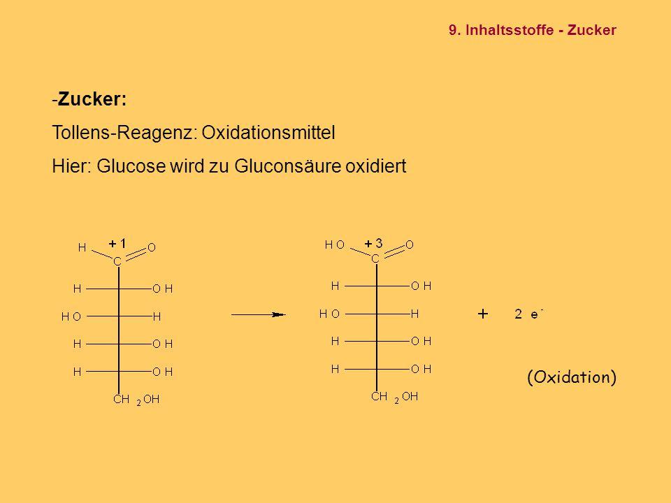 Tollens-Reagenz: Oxidationsmittel