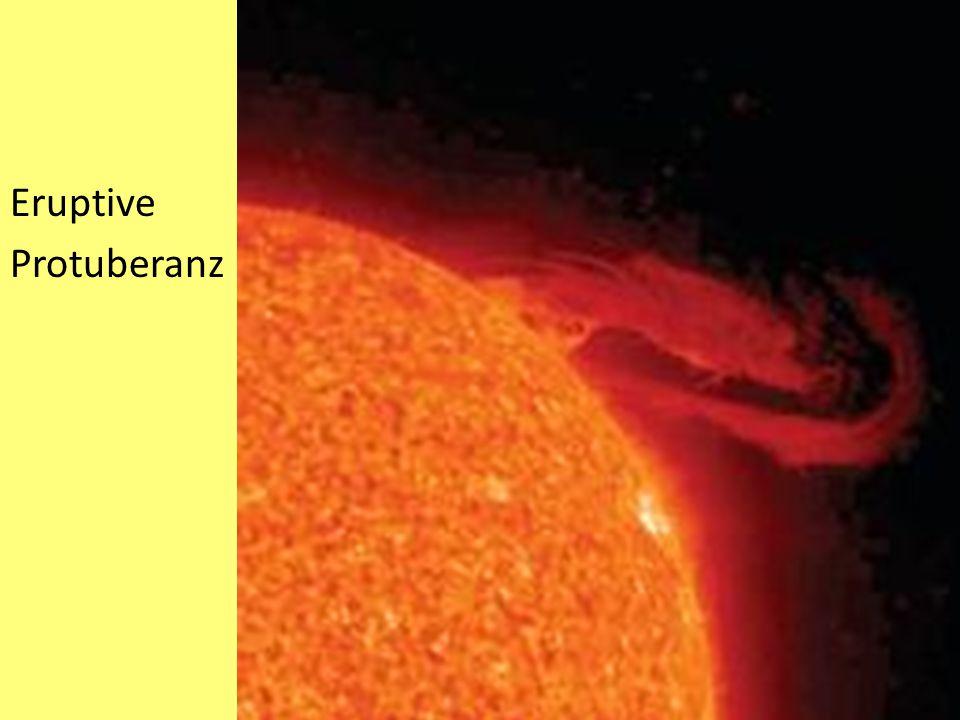 Eruptive Protuberanz
