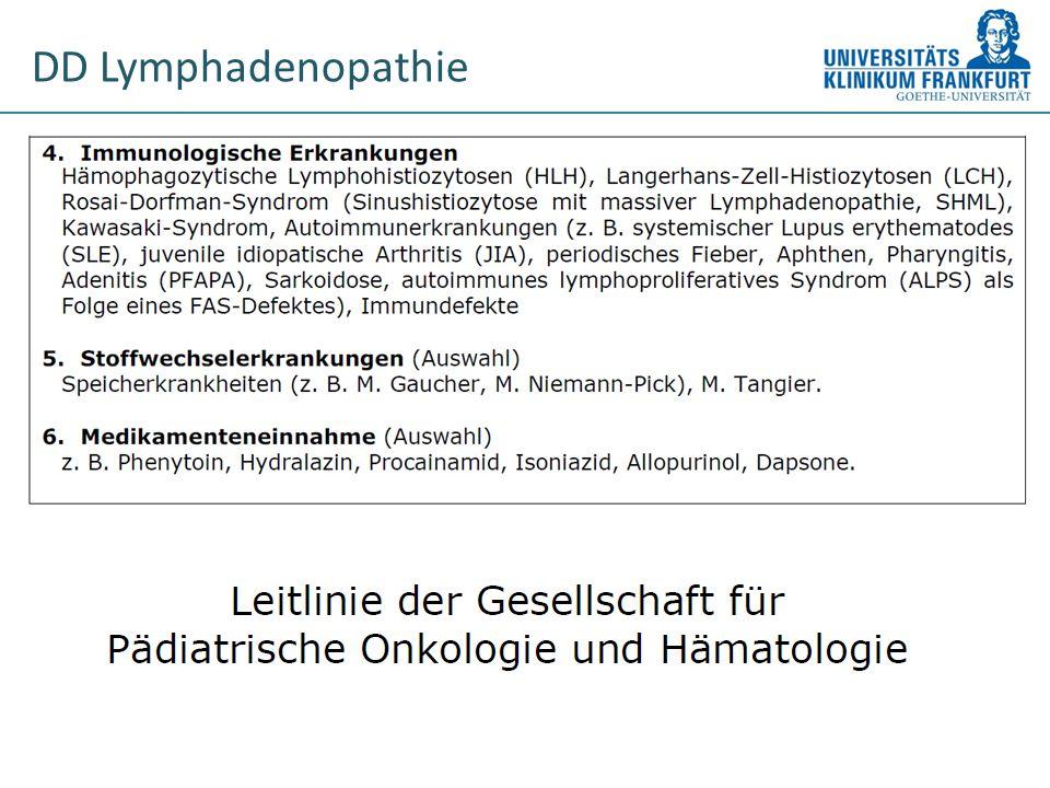 DD Lymphadenopathie