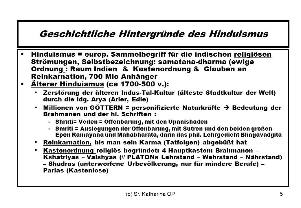 Geschichtliche Hintergründe des Hinduismus