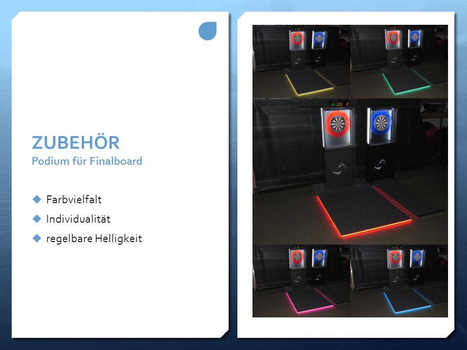 ZUBEHÖR Podium für Finalboard