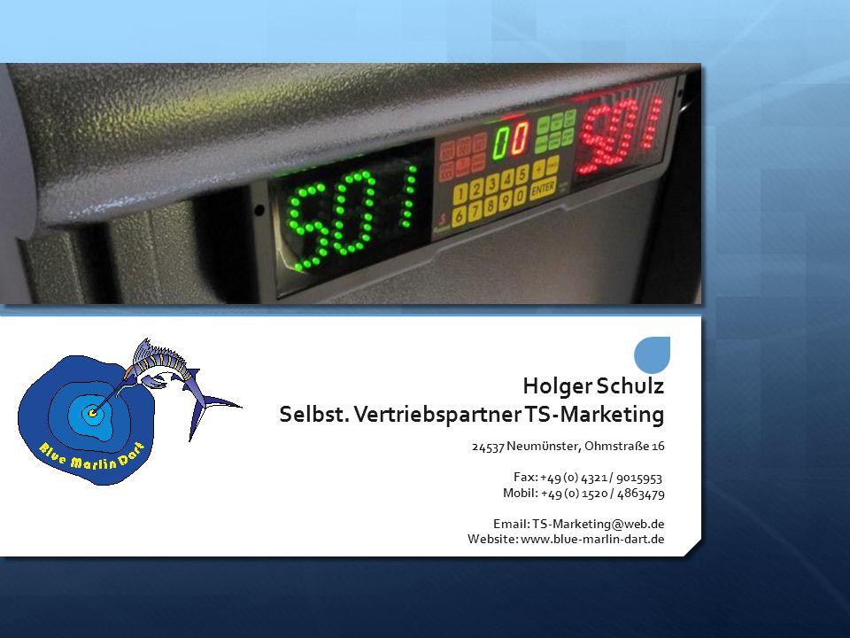 Holger Schulz Selbst. Vertriebspartner TS-Marketing