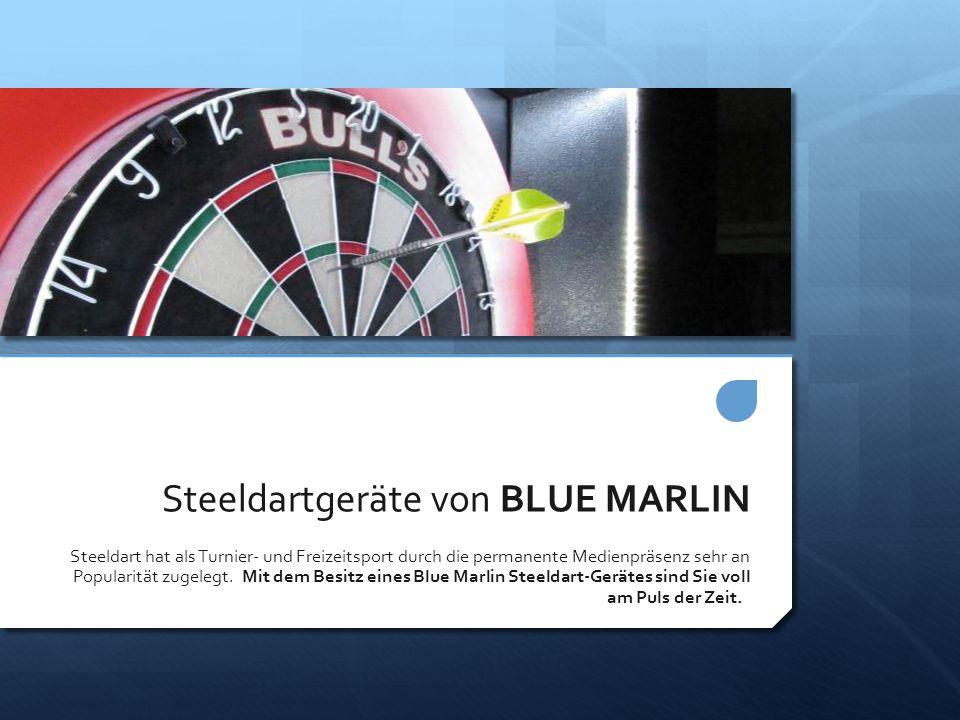 Steeldartgeräte von BLUE MARLIN