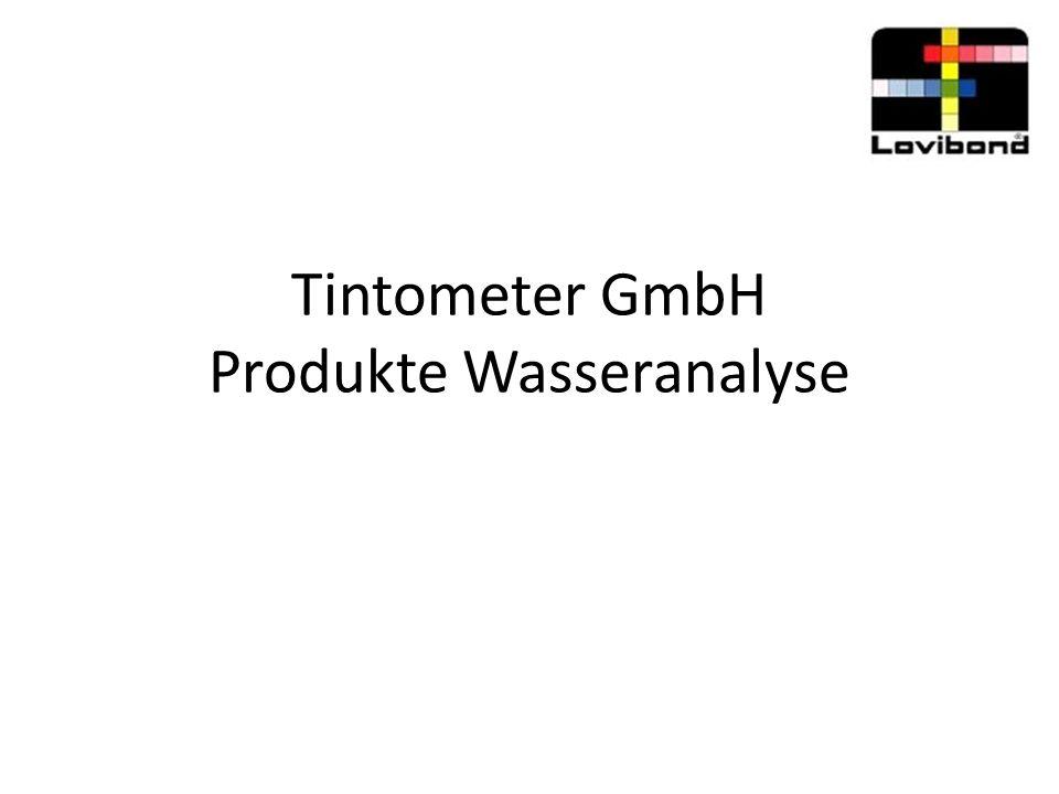 Tintometer GmbH Produkte Wasseranalyse