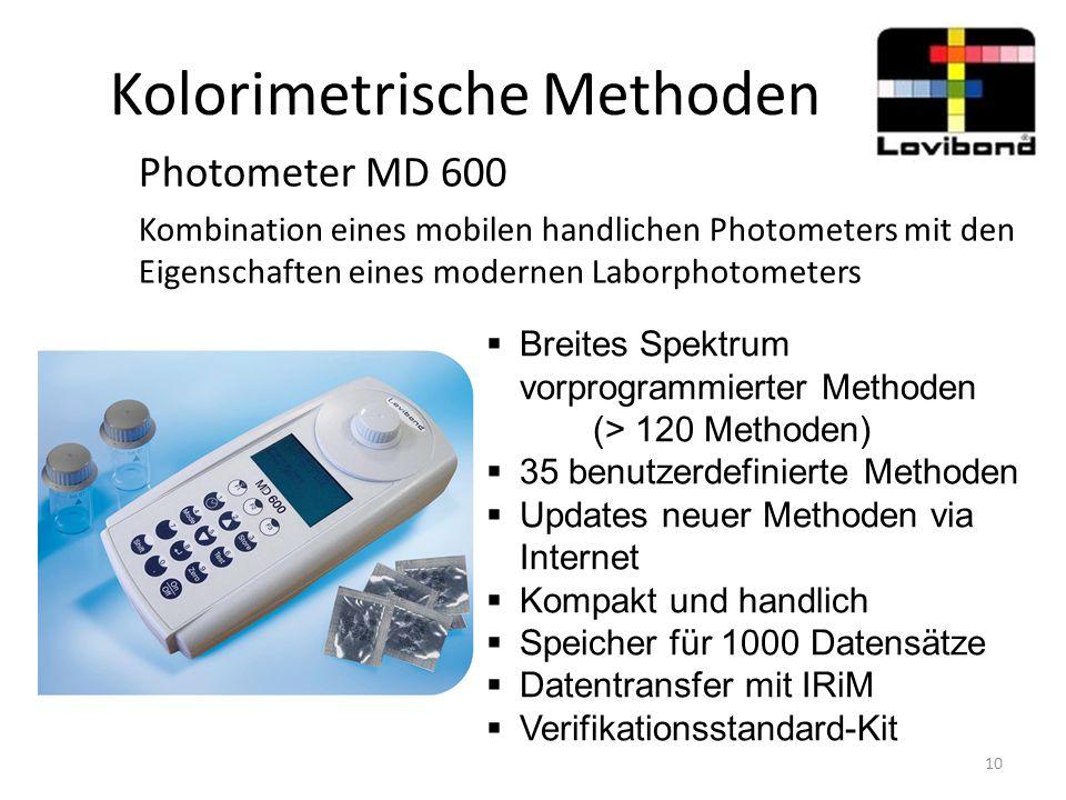 Kolorimetrische Methoden