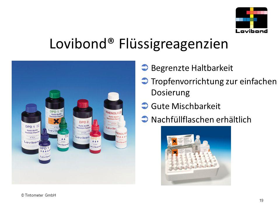 Lovibond® Flüssigreagenzien