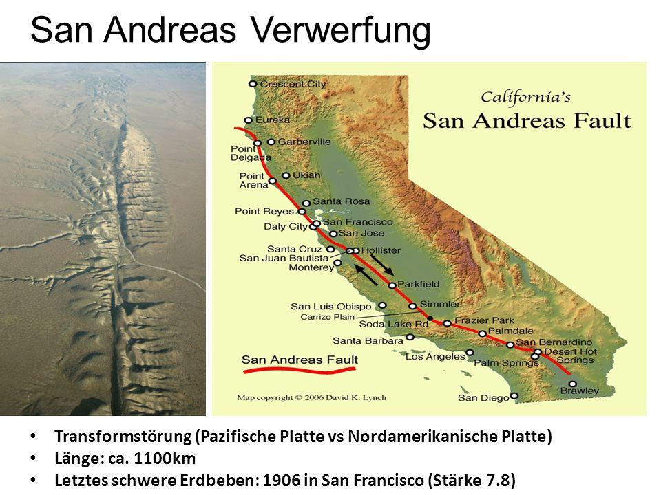 San Andreas Verwerfung
