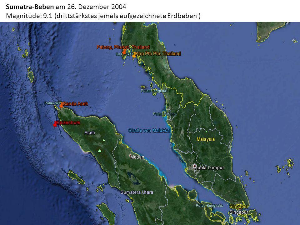 Sumatra-Beben am 26. Dezember 2004