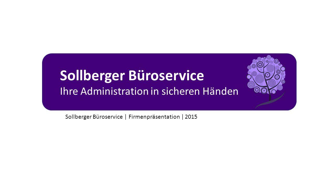Sollberger Büroservice | Firmenpräsentation | 2015