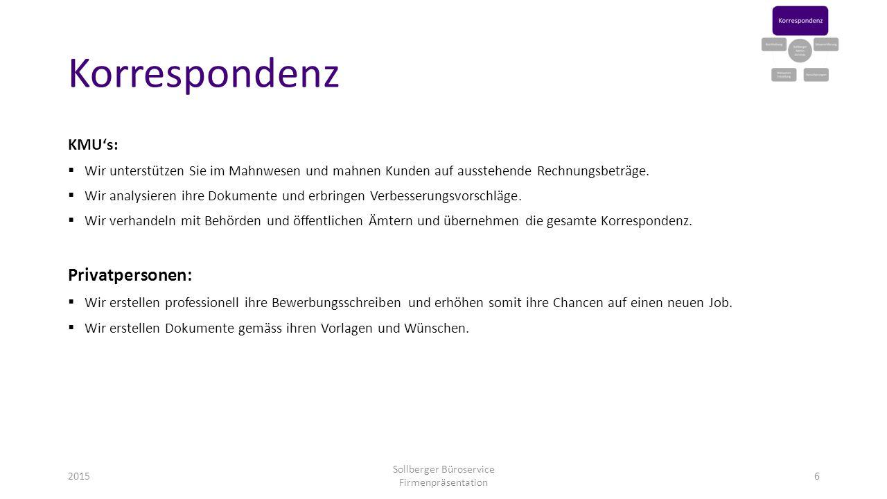 Sollberger Büroservice Firmenpräsentation