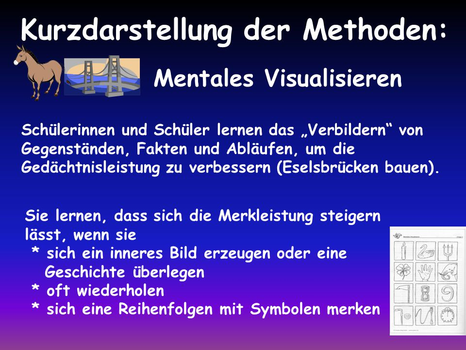 Mentales Visualisieren