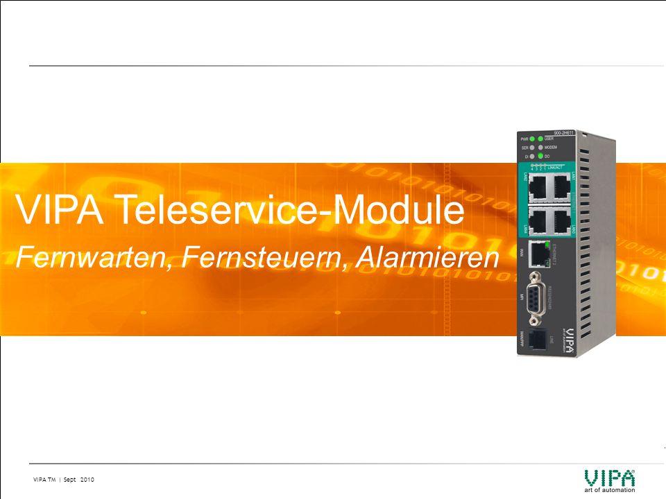 VIPA Teleservice-Module