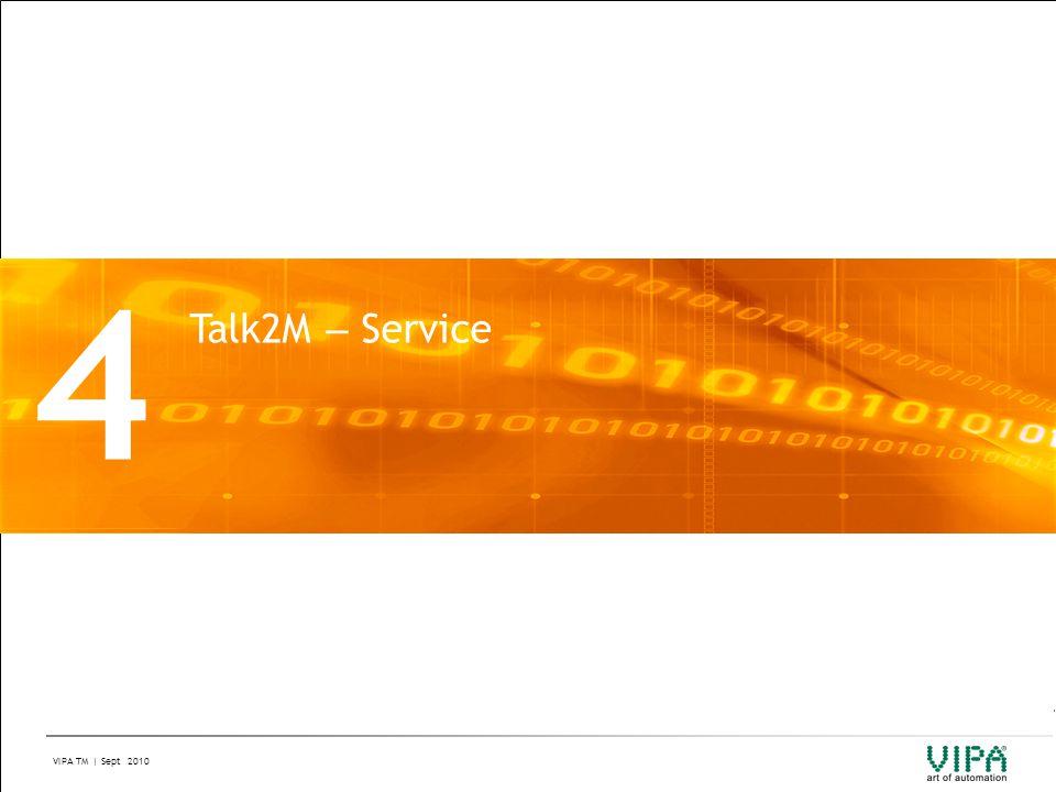 4 Talk2M – Service