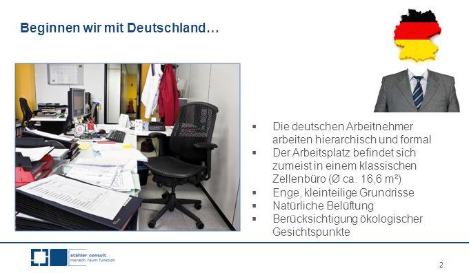 Beginnen wir mit Deutschland…